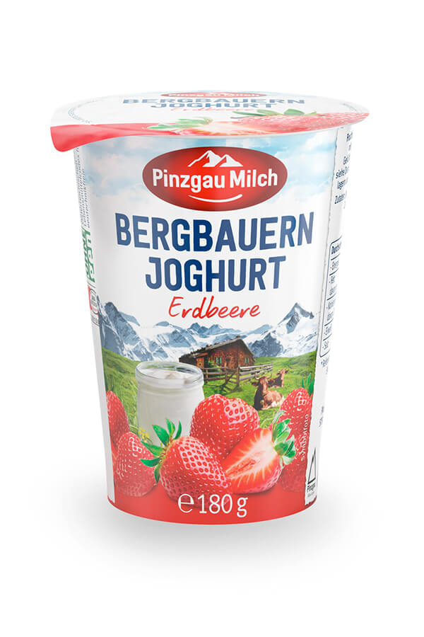 Bergbauern strawberry yoghurt